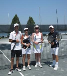 Tennis Divorce Open 2012 finalistes