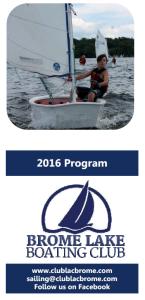 Sailing brochure